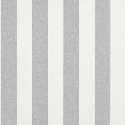 Rasch Textil Comtesse   225432   Vliestapete Streifen   0.53 m x 10.05 m   Grau