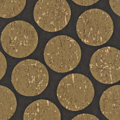 Rasch Textil Indigo | 226637 | Vliestapete 3D Optik | 0.53 m x 10.05 m | Braun