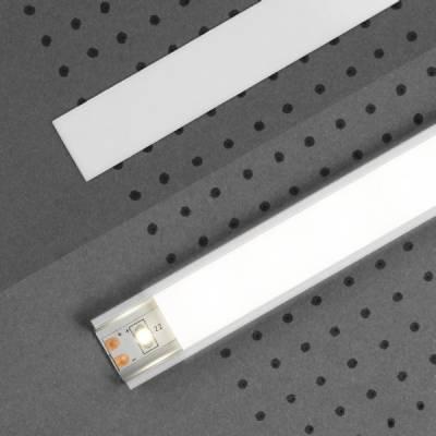 """Abdeckung """"H"""" für LED-Aluminiumprofile"""