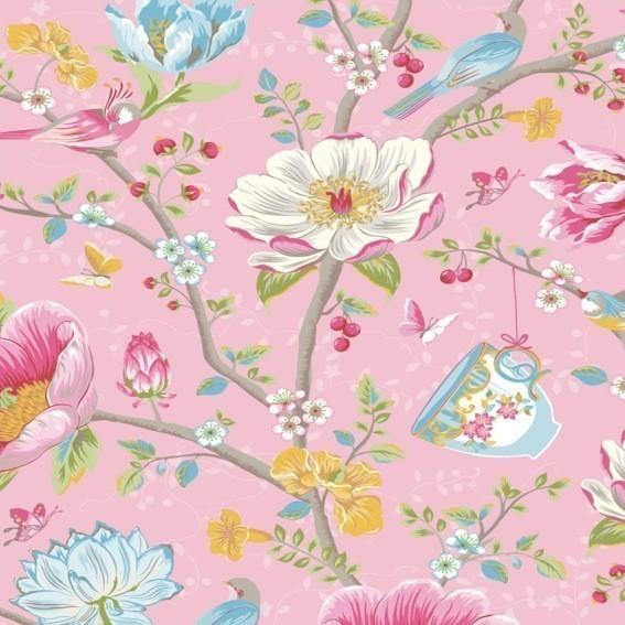 Eijffinger Tapete Kollektion PIPSTUDIO3 341001 Blumen-Muster & Motive