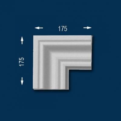"""Fassadenprofile """"Wiesemann FP8"""" - Eckstück"""