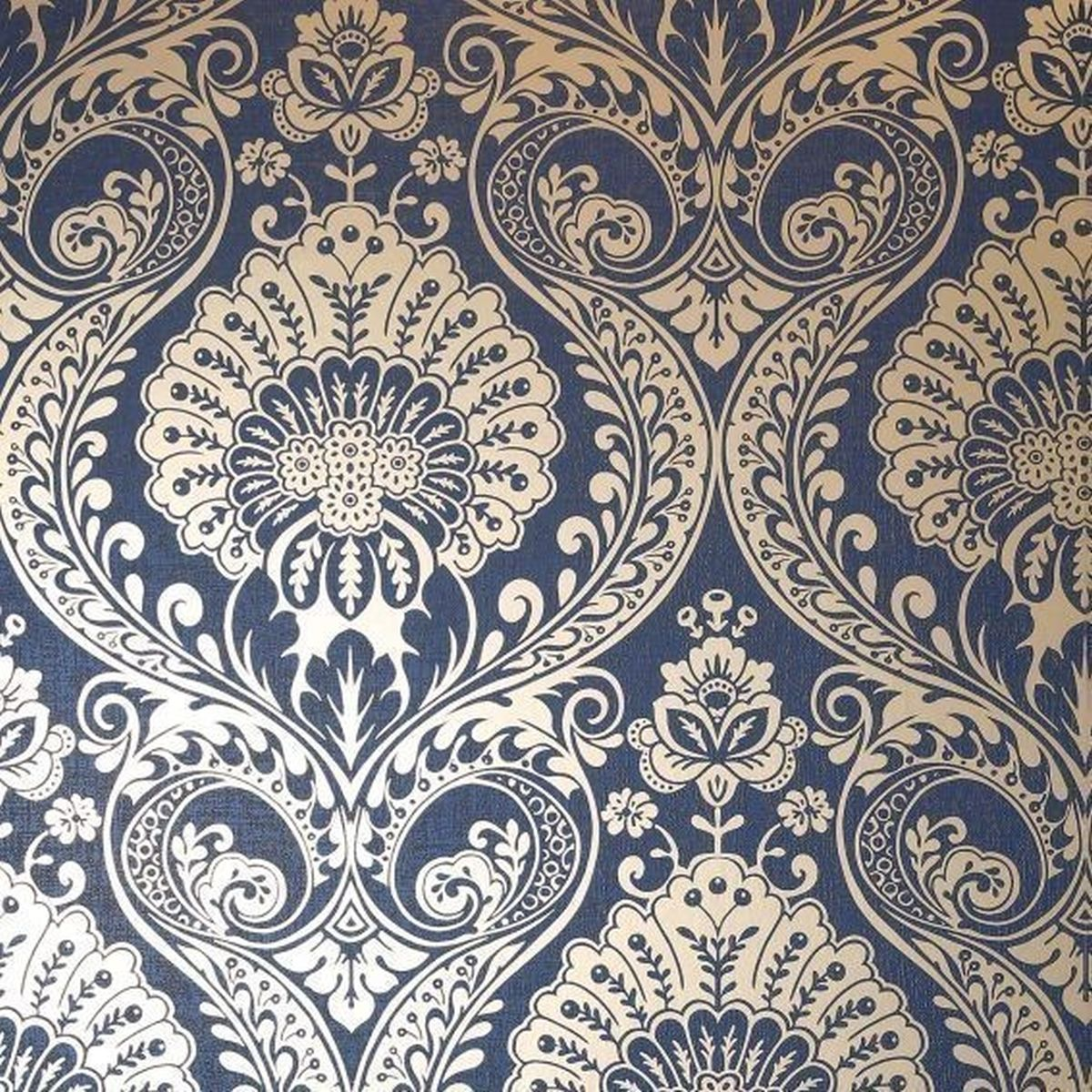 Best of Arthouse Vliestapete Edles Design 910308 Blau Barock Tapete