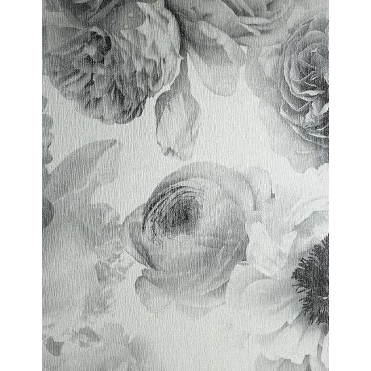 Best of Arthouse Vliestapete Erstklassige Wandbekleidung 257001 Grau Blumentapete