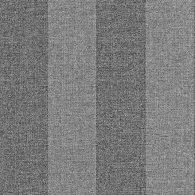 Rasch Textil Indigo   226538   Vliestapete Streifen   0.53 m x 10.05 m   Grau