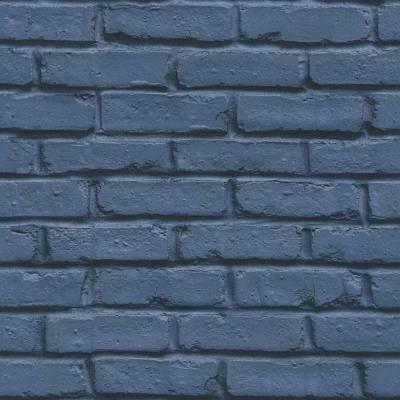 A.S. Creation BEAUTIFUL WALLS | 358561 | Vliestapete Steintapete | 0.53 m x 10.05 m | Blau