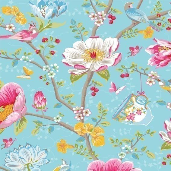Eijffinger Tapete Kollektion PIPSTUDIO3 341002 Blumen-Muster & Motive