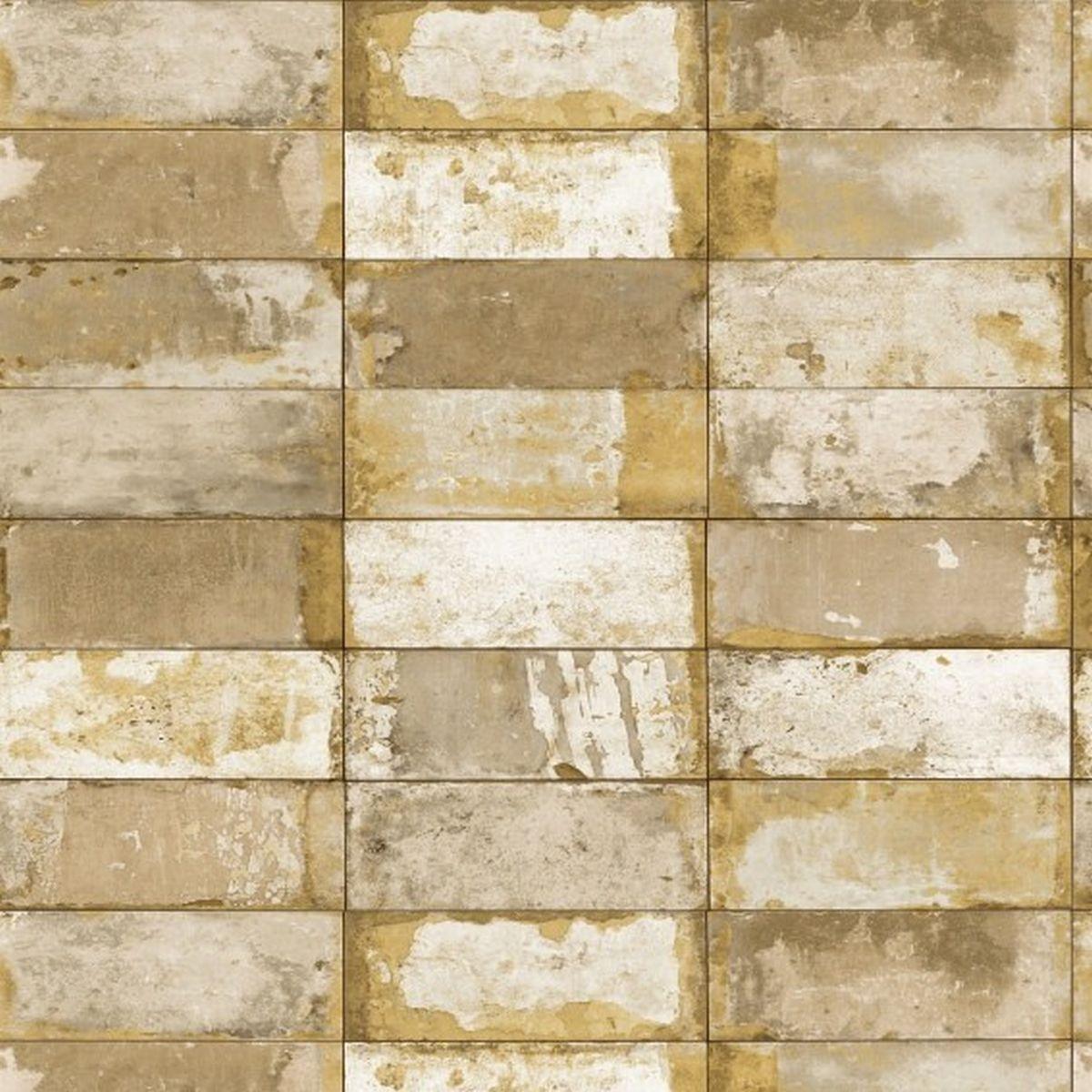 DesignID Vliestapete Ausgesuchte Designs NF232022 Grau Steintapete