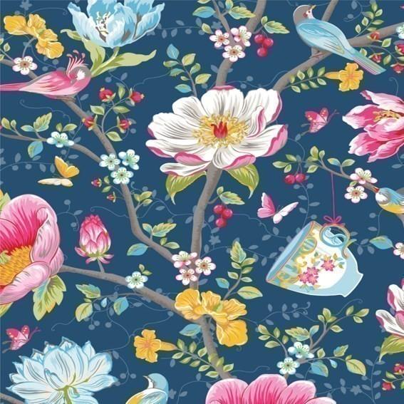 Eijffinger Tapete Kollektion PIPSTUDIO3 341003 Blumen-Muster & Motive