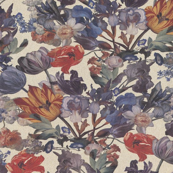 Eijffinger Tapete Kollektion MASTERPIECE 358011 Blumen-Muster & Motive