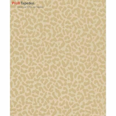 Rasch Textil Cassata | 077437 | Vliestapete Muster & Motive | 0.53 m x 10.05 m | Braun