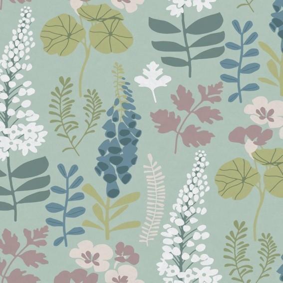 Eijffinger Tapete Kollektion VIVID 384531 Blumen-Muster & Motive
