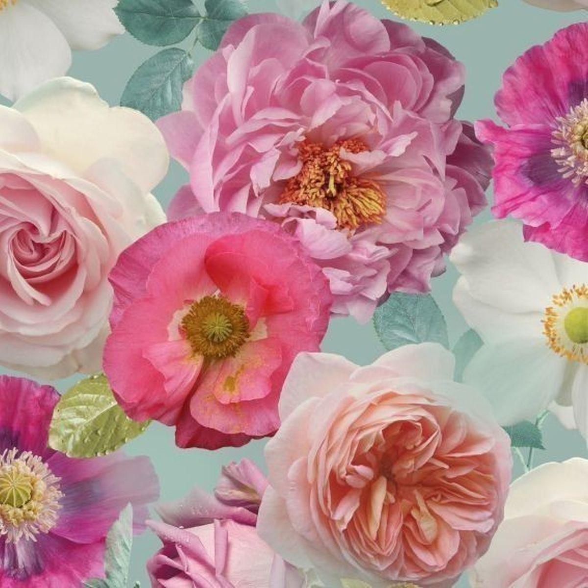 Best of Arthouse Vliestapete Erstklassige Wandbekleidung 259600 Rot Blumentapete