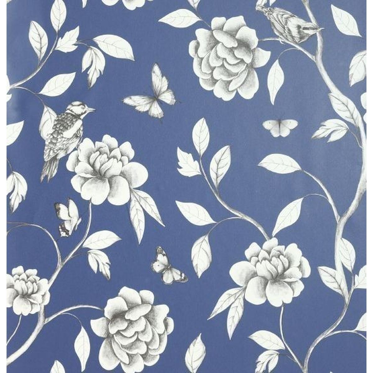 Best of Arthouse Vliestapete Erstklassige Tapete 907600 Blau Blumentapete