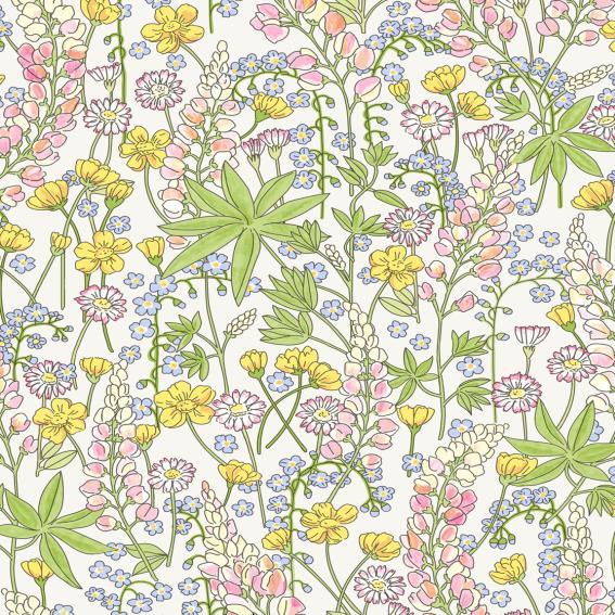 Eijffinger Tapete Kollektion RICEII 383500 Blumen-Muster & Motive