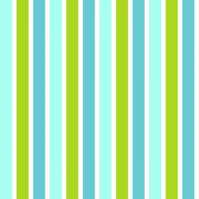 Rasch Textil Everybody Bonjour | 138703 | Vliestapete Streifen | 0.53 m x 10.05 m | Grün