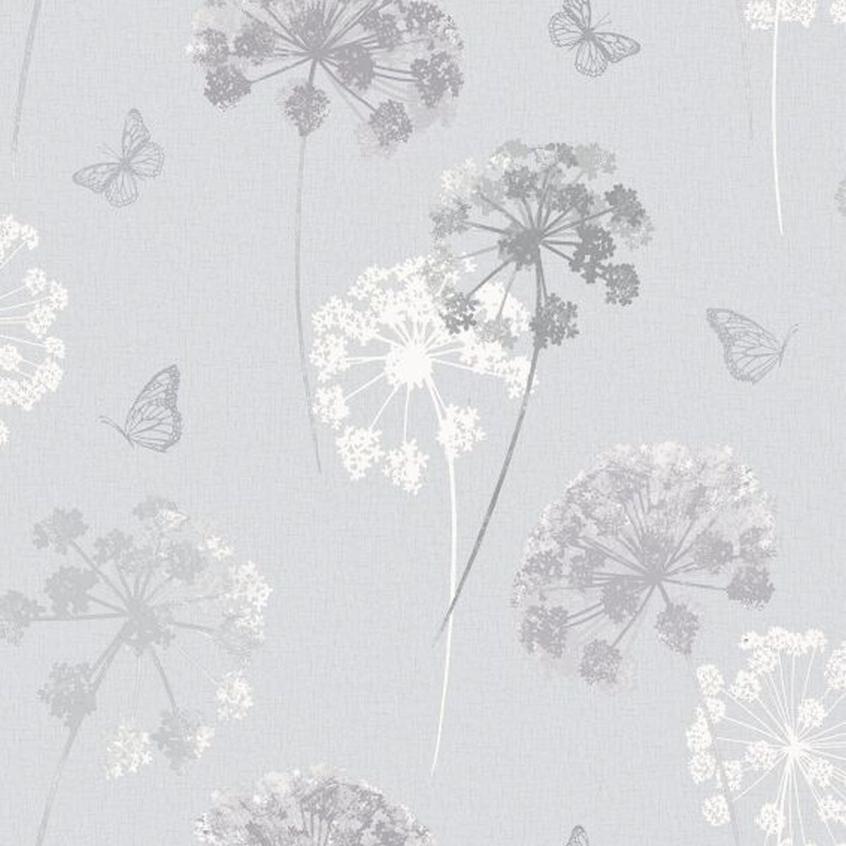 Best of Arthouse Vliestapete Ausgezeichnete Vliestapete 259100 Grau Blumentapete
