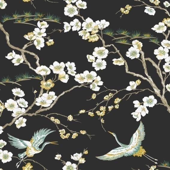 Vliestapete von Graham and Brown 'Kabuki' 105984  Blumen