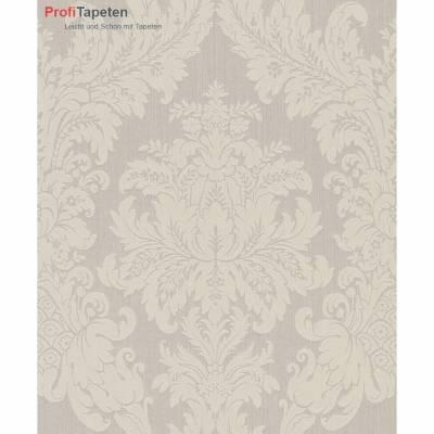 Rasch Textil Cassata   077345   Vliestapete Muster & Motive   0.53 m x 10.05 m   Beige