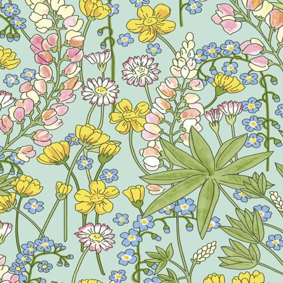 Eijffinger Tapete Kollektion RICEII 383502 Blumen-Muster & Motive