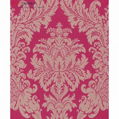 Rasch Textil Cassata | 077239 | Vliestapete Muster & Motive | 0.53 m x 10.05 m | Rot