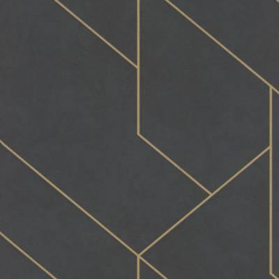 Rasch Brick Lane   427431   Vliestapete 3D Tapete   0.53 m x 10.05 m   Schwarz