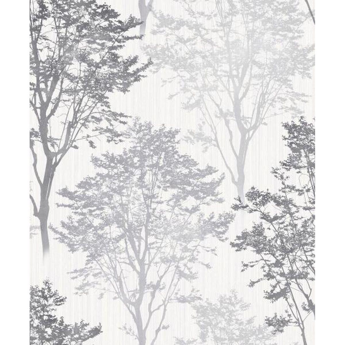 Best of Arthouse Vliestapete Prächtiges Design 259500 Grau Blumentapete