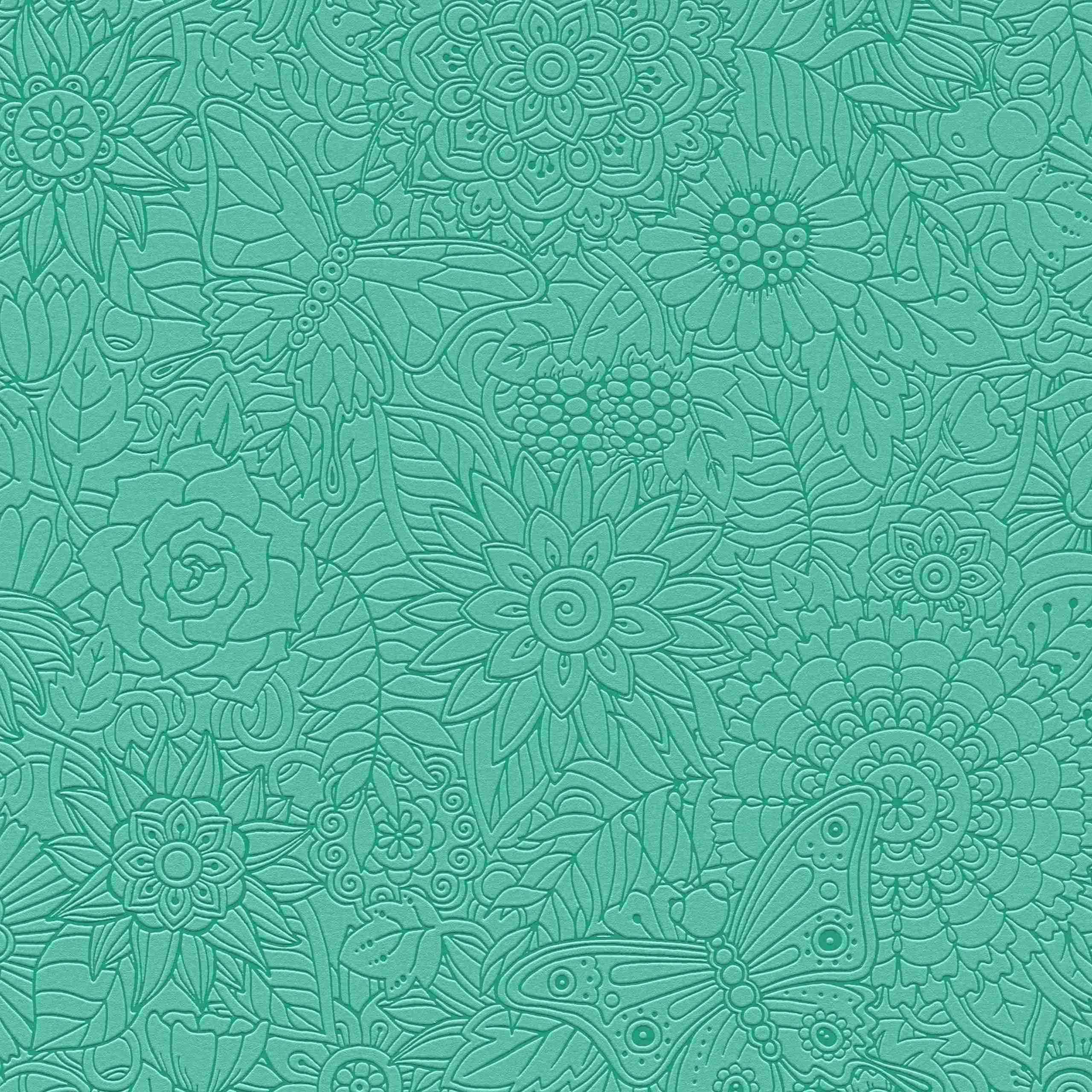 A.S. Creation Tapete Kollektion Club Tropicana 358163 Blumen