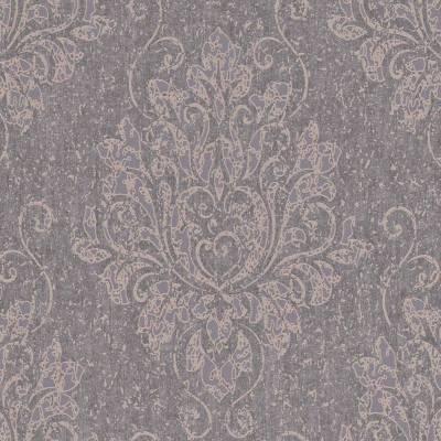 Rasch Textil Indigo   226248   Vliestapete Muster & Motive   0.53 m x 10.05 m   Braun