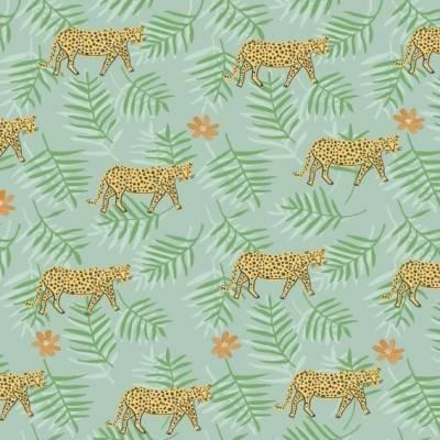A.S. Création Papiertapete für Jungenzimmer 'Buntes Dschungelleben'
