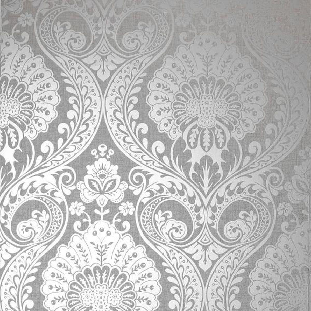 Best of Arthouse Vliestapete Erstklassige Tapete 906609 Grau Barock Tapete