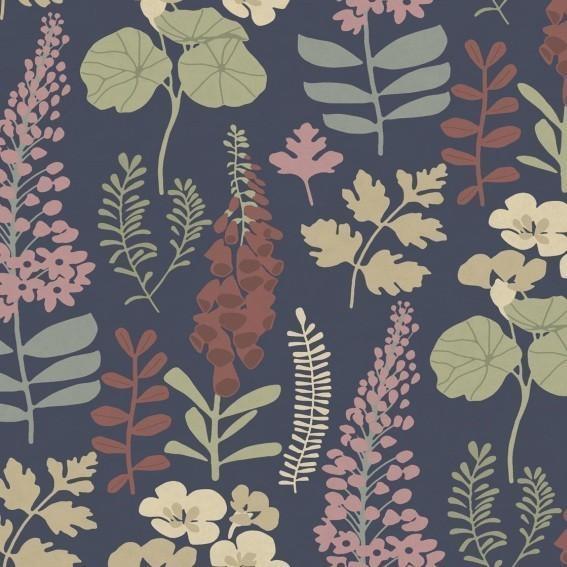 Eijffinger Tapete Kollektion VIVID 384534 Blumen-Muster & Motive