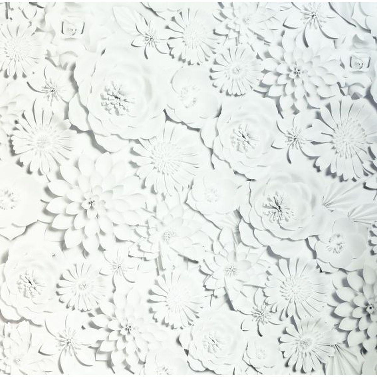 Best of Arthouse Vliestapete Edle Tapete 907603 Weiß Blumentapete