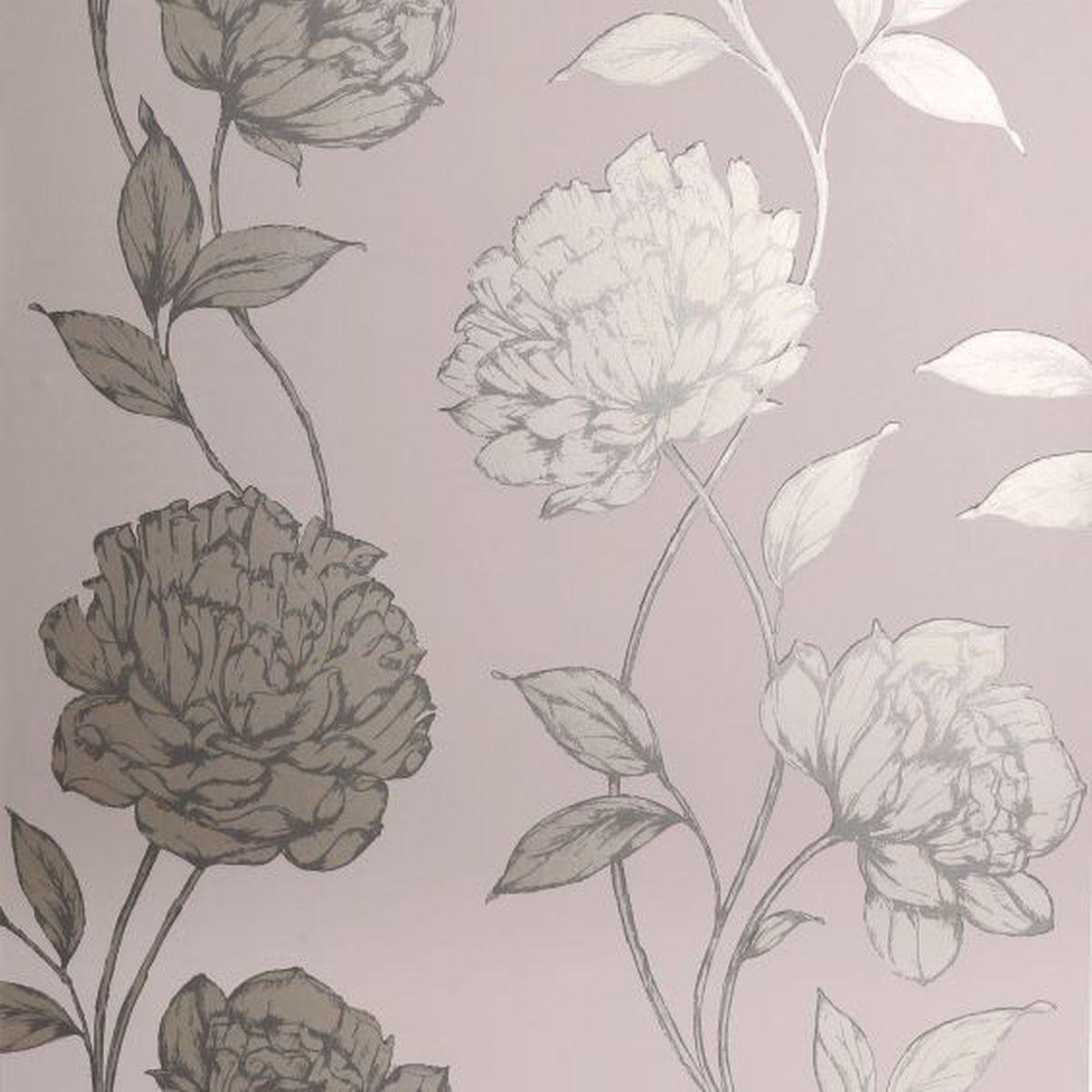 Best of Arthouse Vliestapete Ausgesuchte Designs 688000 Cremefarben Blumentapete