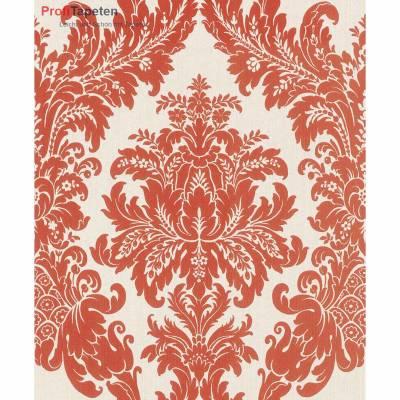 Rasch Textil Cassata | 077260 | Vliestapete Muster & Motive | 0.53 m x 10.05 m | Rot