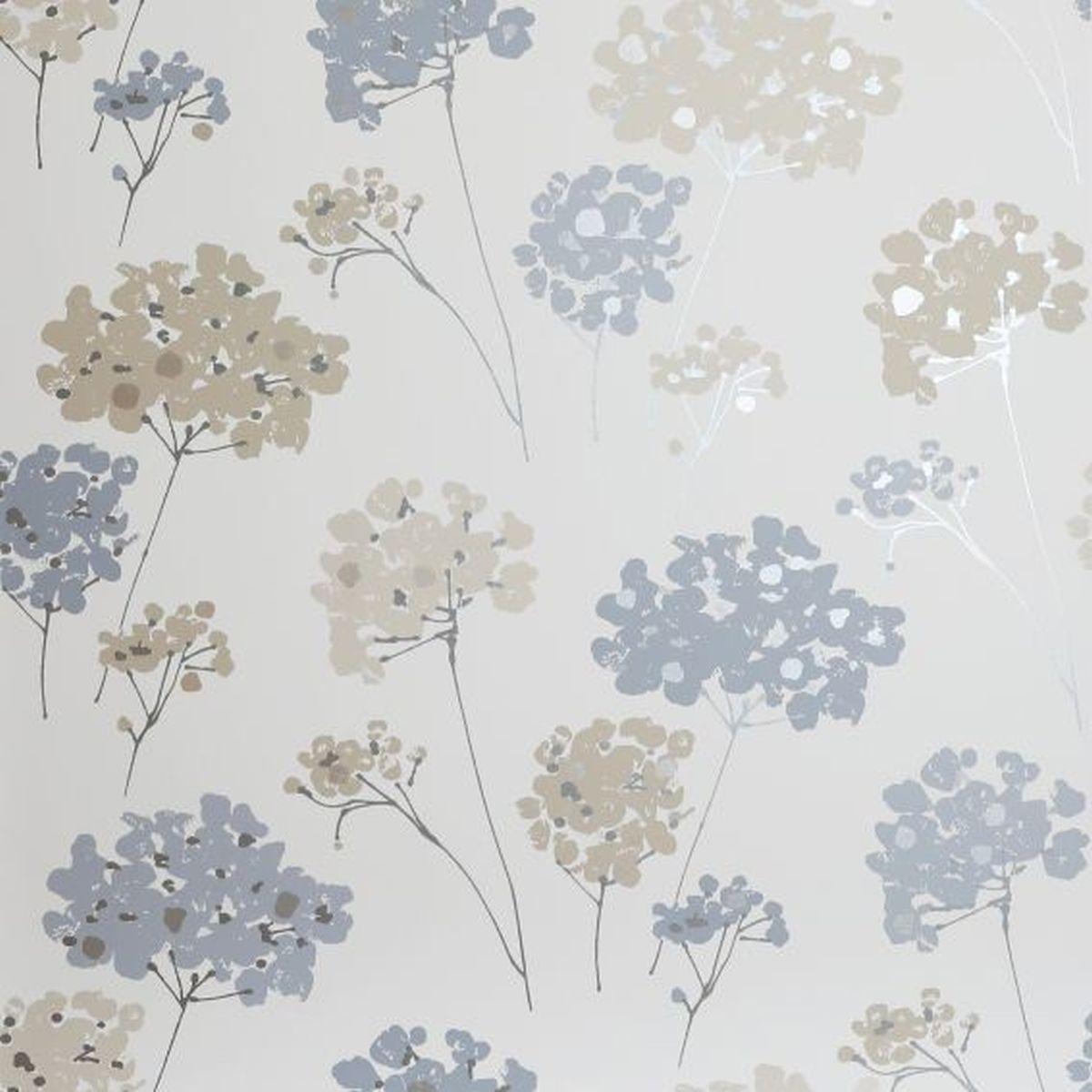 Best of Arthouse Vliestapete Ausgesuchte Designs 907500 Blau Blumentapete