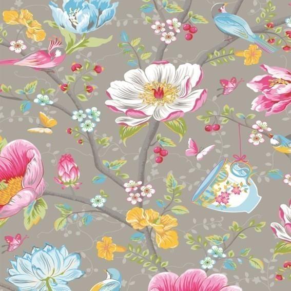 Eijffinger Tapete Kollektion PIPSTUDIO3 341004 Blumen-Muster & Motive