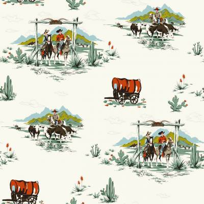Rasch Textil Everybody Bonjour   128717   Vliestapete Muster & Motive   0.53 m x 10.05 m   Bunt