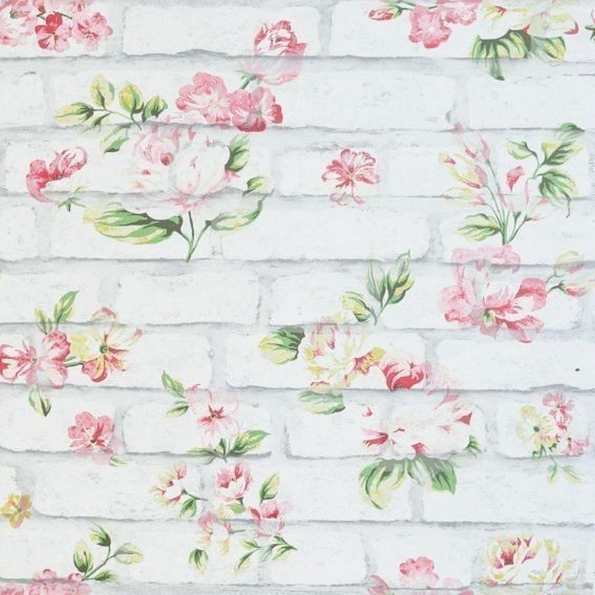 Best of Arthouse Vliestapete Ausgesuchte Designs 907605 Grau Blumentapete