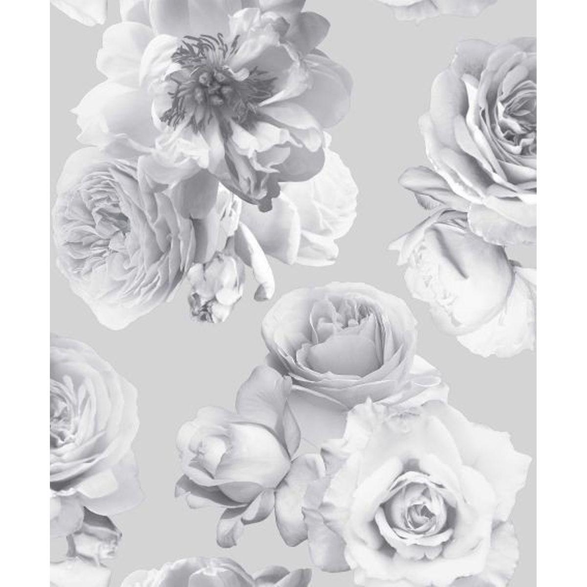 Best of Arthouse Vliestapete Erstklassige Wandbekleidung 683003 Grau Blumentapete