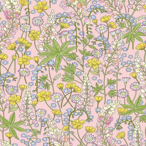 Eijffinger Tapete Kollektion RICEII 383501 Blumen-Muster & Motive