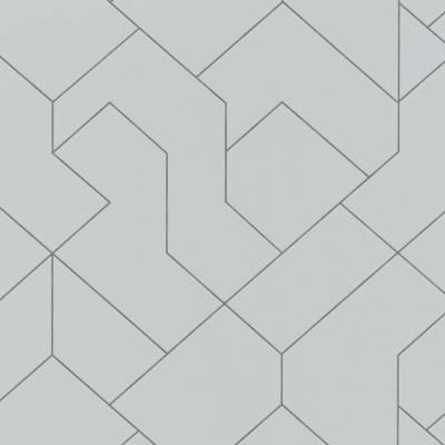 Erismann Black & White | 5417-10 | Vliestapete 3D Tapete | 0.53 m x 10.05 m | Grau