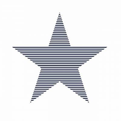 Rasch Textil Everybody Bonjour | 138706 | Vliestapete Muster & Motive | 0.53 m x 10.05 m | Blau