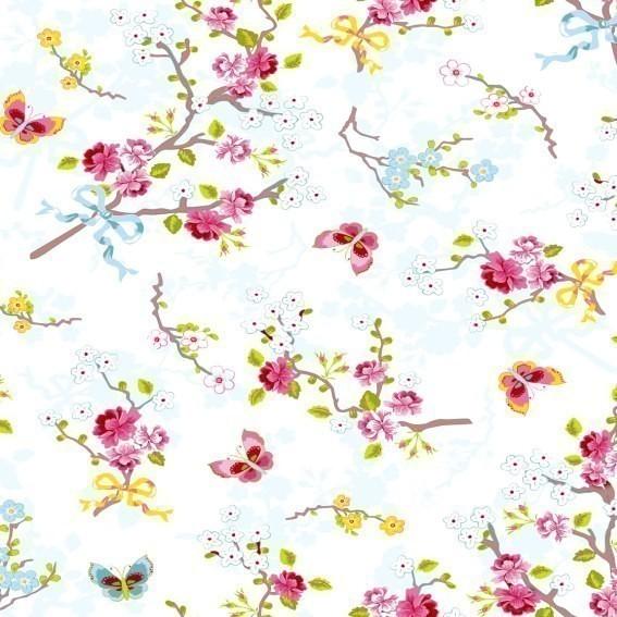 Eijffinger Tapete Kollektion PIPSTUDIO4 375070 Blumen-Muster & Motive
