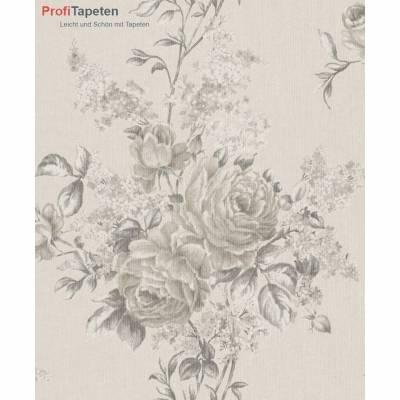 Rasch Textil Cassata | 077543 | Vliestapete Muster & Motive | 0.53 m x 10.05 m | Beige