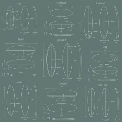 Rasch Textil Regatta Crew Surf Edition für Jugendzimmer Vliestapete 3D Optik