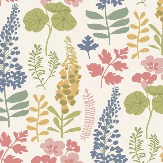 Eijffinger Tapete Kollektion VIVID 384532 Blumen-Muster & Motive