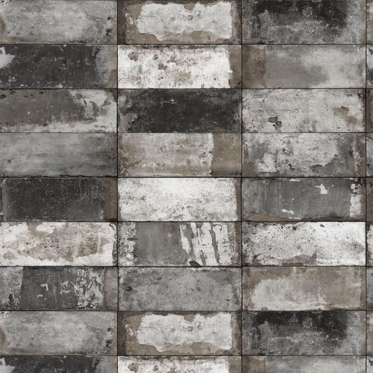 DesignID Vliestapete Luxuriöse Tapete NF232024 Grau Steintapete