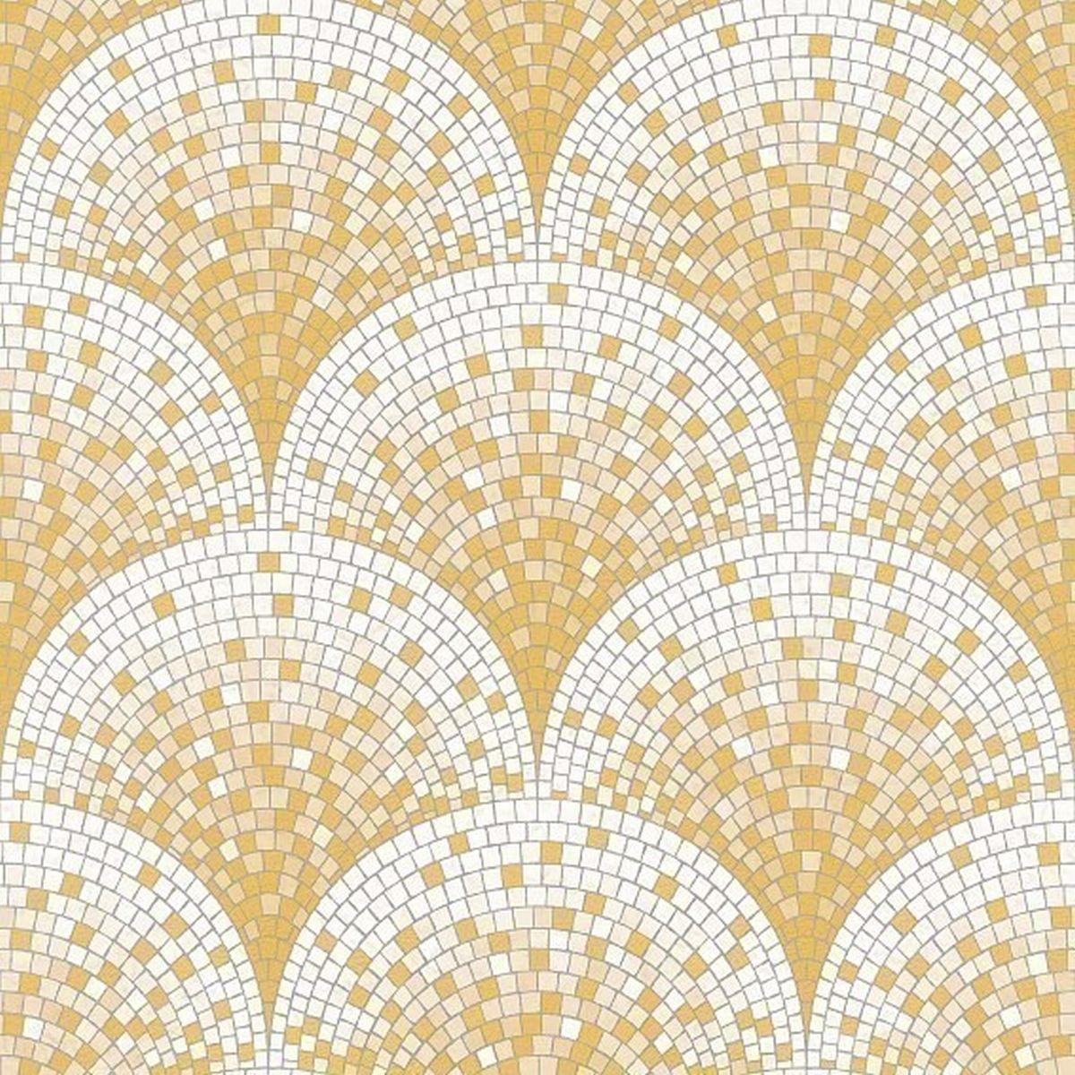 DesignID Vliestapete Edles Design BA220042 Gelb Steintapete