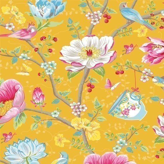 Eijffinger Tapete Kollektion PIPSTUDIO3 341006 Blumen-Muster & Motive