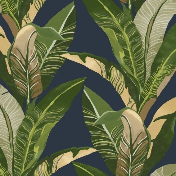 Eijffinger Tapete Kollektion VIVID 384504 Blumen-Muster & Motive